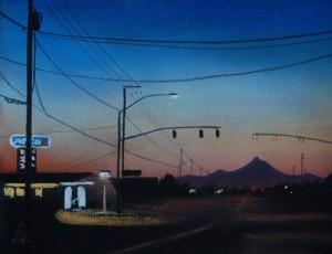 Dawn on Lombard
