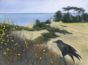 Raven and Lighthouse