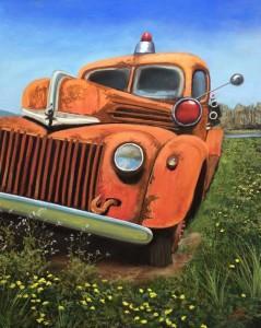 Wallkill Farm Fire Truck